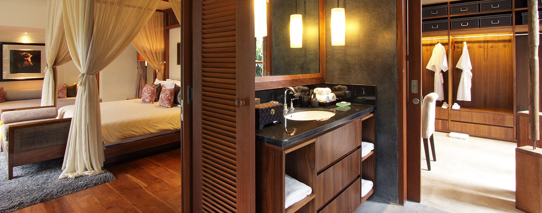 Villa Sarasvati - Guest bedroom ensuite bathroom