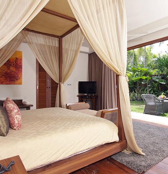 Villa Sarasvati - Guest bedroom terrace