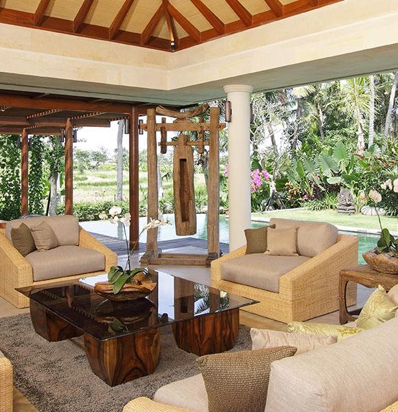 Villa Sarasvati - Main living area