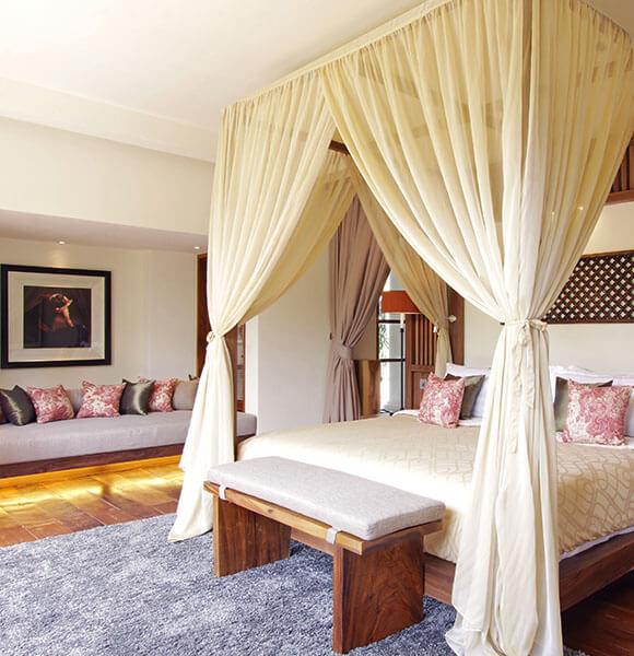 Villa Sarasvati - Master bedroom