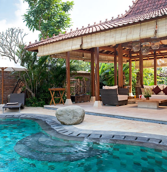 Villa Amy - Pool and living pavillion