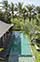Villa Sarasvati - Semi-aerial of pool